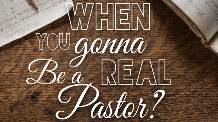 When You Gonna Be a Real Pastor? Podcast Interview